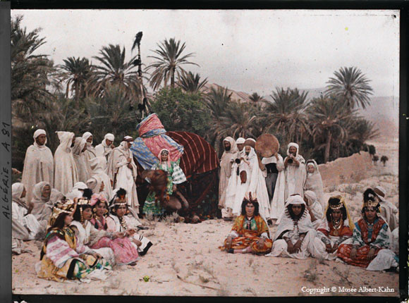 old Algeria color photo by Albert Kahn