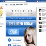 joico facebook landing page